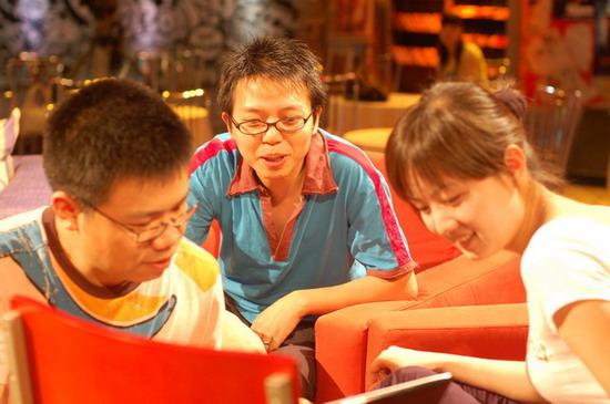 Hu Xu Dong and Yerba Mate