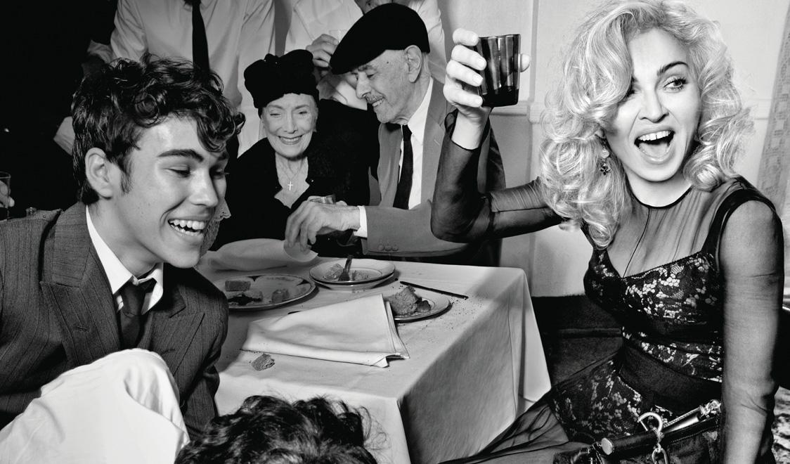 Madonna Drinking